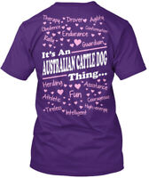 Its An Australian Cattle Dog Thing - It's Therapy Hanes Tagless Tee T-Shirt