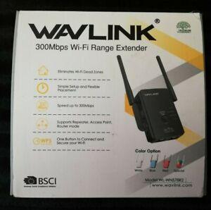 WavLink WN 578R2 300mbps Wifi Range Extender - Reduce Dead Internet Zones