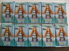 2019 Topps WWE WOMEN'S DIVISION WRESTLING CARDS 10-Pack Lot Retail