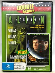 Alien Intruder & Space Fury - 2 Movies on 1 DVD - AusPost with Tracking