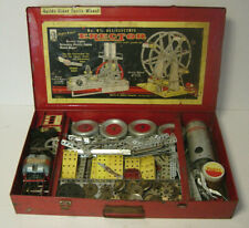 A. C. Gilbert Erector No. 8 1/2 Set Giant Ferris Wheel All Electric Engine Metal