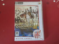 PC COSSACKS II 2 NAPOLEONIC WARS Strategy WIN 98/2000/ME/XP/Vista NEW & SEALED