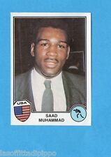 SPORT SUPERSTARS/EURO FOOTBALL 82-PANINI-Figurina n.80- MUHAMMAD - USA -Rec