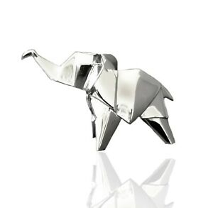 Solid 925 Sterling Silver Nomi Origami Elephant.