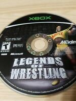 Legends Of Wrestling (Original Xbox) Disc Only, Tested!
