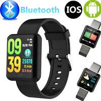 Cardiofrequenzimetro Bluetooth Smart Watch Fitness Tracker