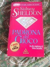 SIDNEY SHELDON PADRONA DEL GIOCO BUONO/OTTIMO!!