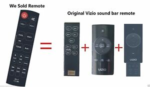 New Replaced Sound Bar Home Thearter Remote Control fit for ALL VIZIO SOUND BAR