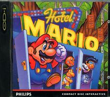 CDI Philips gioco HOTEL MARIO Magnavox game CD-I CDi