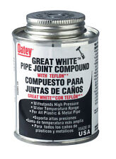 Oatey 31231 Pipe Joint Compound with Ptfe with Brush, 8 fl.Ounce