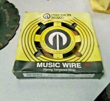 "New listing Precision 0.041"" Diameter Music Wire, 1/4 Pound Coil"