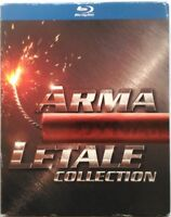 Blu-ray Arma Letale Collection - cofanetto slipcase 5 dischi Usato