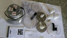 KitchenAid 9 Cup Food Processor Silver Wide Mouth 3 Speed