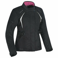 Oxford Dakota 2.0 Ladies Motorbike Motorcycle Textile Jacket Black / White