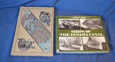 Lot of 2 Books on Panama Canal-1911 A TRIP: PANAMA CANAL & SHIPS OF THE CANAL
