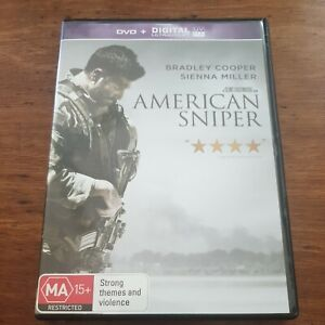 American Sniper DVD R4 Like New! FREE POST