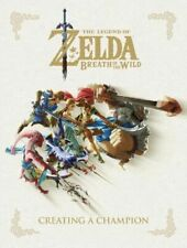 The Legend of Zelda Breath of the Wild  Creating a Champion Hardcover by Nintendo (2018, Hardcover)