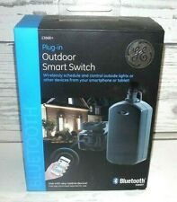 GE Plug-In Outdoor Smart Switch 13868 Bluetooth Plug-In On/Off Timer Module