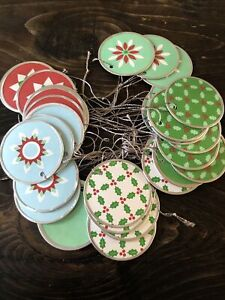 Martha By Mail Christmas Holiday Gift Tags