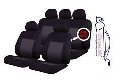 9 PCE Woven Traditional Design Full Set of CAR Seat Covers Skoda Fabia Octavia