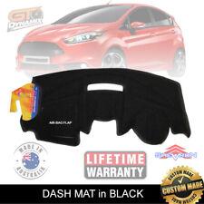 DASH MAT FORD Fiesta WS WT WZ Jan/2009-2018 Zetec BLACK Titanium Trend DM1108