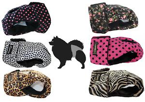 Washable Dog Season Nappy Pants - Dark Patterns - Huge Variety - Sizes XS to XL