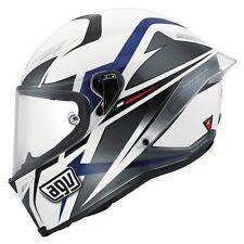 AGV Corsa Velocity Helmet Blue Lines beautiful size M/L