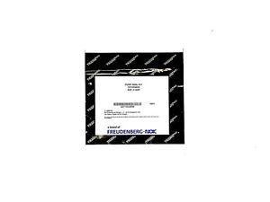 Power Steering Pump Seal Kit For Infinity, Suburu, Nissan, GEO, 8531 - Transtec