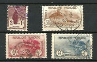 FRANCE Série N° 229/232 ORPHELINS Oblitérés. Cote 175€
