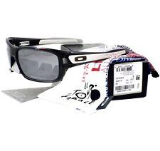 Oakley OO 9263-16 TOUR DE FRANCE TURBINE Grey Smoke Black Irid Men Sunglasses .