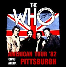 THE WHO  LIVE AT THE CIVIC ARENA PITTSBURGH PA 1982 SEPTEMBER 28TH 2 CD