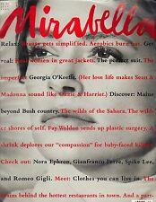 DONNA BUNTE Mirabella Magazine 7/89 #2 GEORGIA O'KEEFFE PHOEBE CATES PC
