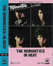 THE ROMANTICS IN HEAT CASSETTE IMPORT HONG KONG ISSUE  KKP 194 CBS SONY NEW WAVE