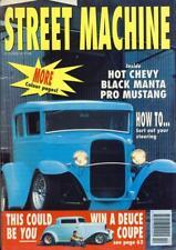 STREET MACHINE OCTOBER 1991-1931 MODEL A FORD SEDAN-55 CHEVY-ALAN REVELL MUSTANG