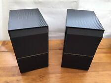 A Pair Of Bang & Olufsen B&O Beovox CX50 Speakers/Blk Carbon Fibre Vinyl Wrap