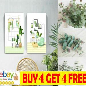 Artificial Eucalyptus Fake Leaf Green Plant Silk Flowers Indoor Home Decor ma