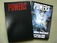Graphitti Designs Powers: Who Killed Retro Girl #317/750 Signed/# Slipcased HC