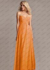 New Formal Chiffon Bridesmaid Dress Evening Ball Prom Dress Gown Size 6-22