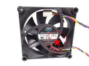 1PC Cooler MASTER A8025-45RB-4IP-F1 0.60A 8025 4-wire PWM speed measuring fan