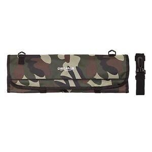 9 POCKET Chef Knife roll bag knife Camouflage Camo Chef Gear by Ergo Chef