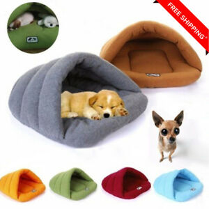 Pet Dog Cat Bed Puppy Cushion House Warm Kennel Sofa Mat Pad Blanket Washable D