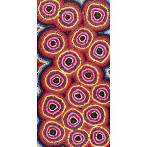 Aboriginal Art - Mina Mina Dreaming 61 x 30