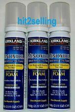 Kirkland Men's Hair Loss Regrowth 5% Minoxidil Topical Foam 3 Month Supply, 2021