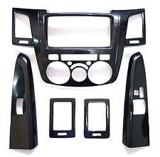 Carbon grain dash Kit For Toyota Hilux 05-11 interior trim mk6 vigo sr5 06 07 08