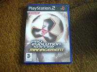 jeu playstation 2 pro evolution soccer management
