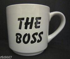 Virtually a Pint Pot or Mug The Boss Stoneware