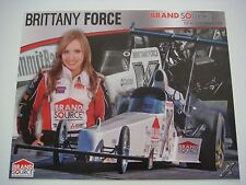 Brittany Force - 2009 Brand Source Top Alcohol Dragster Nhra Handout