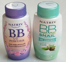 2 pcs. BB UV Powder & BB Aloe Snail oil control Powder for natural radiant skin