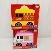 Play Right Ice Cream Truck, Food Truck Toy Lot Of 2 *New* easter gift basket