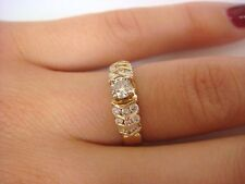 0.50 CARAT T.W. DIAMOND ENGAGEMENT RING 14K YELLOW GOLD 4 GRAMS, SIZE 5